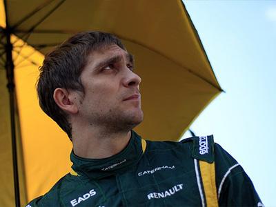 Виталий Петров на Гран При Японии