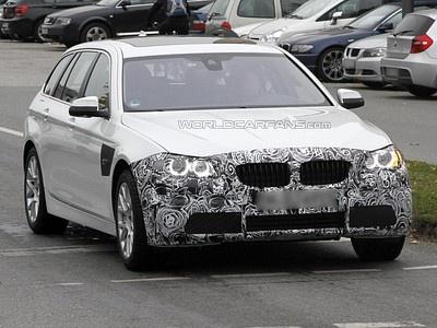 Обновленный BMW 5 серии Touring