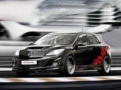 Mazda 3 MPS в тюнинге MR Car Design