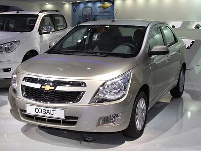 Chevrolet Cobalt на Московском автосалоне