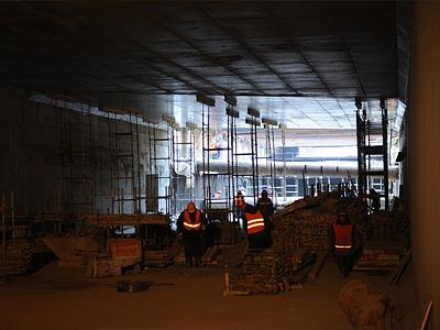 Строительство Алабяно-Балтийского тоннеля в Москве