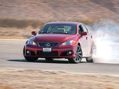 Текущее поколение Lexus IS-F