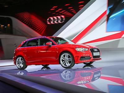 Новый Audi A3 на Парижском автосалоне