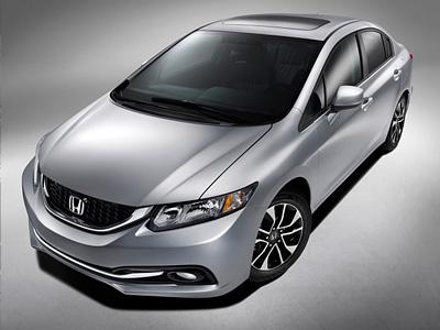 Обновленный Honda Civic