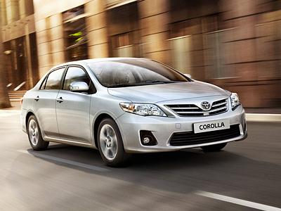 Текущее поколение Toyota Corolla