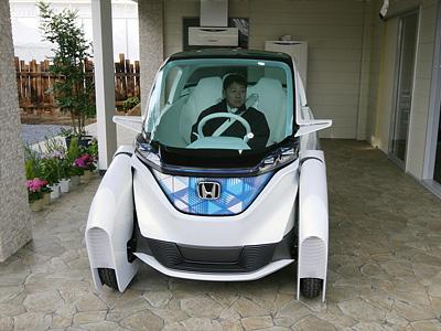 Электрокар Honda Micro Commuter