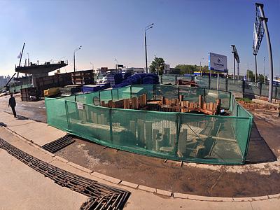 Реконструкция Ленинградского шоссе на пересечении со МКАД