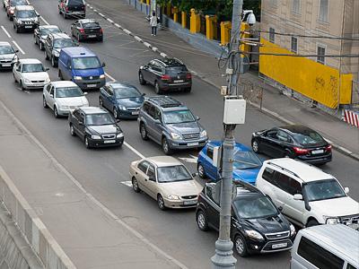 Дорожное движение в Москве