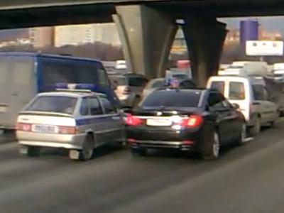 Инцидент между сотрудником полиции и автомобилем замминистра МВД