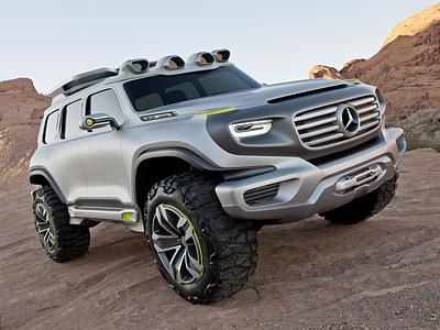 Концепт-кар Mercedes-Benz Ener-G-Force