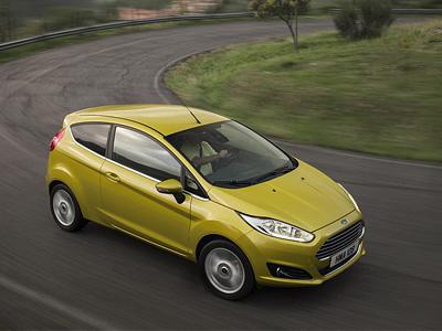 Обновленная Ford Fiesta
