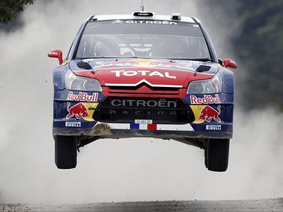Роберт Кубица за рулем Citroen C4 WRC