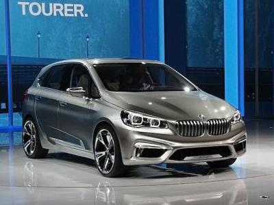 Переднеприводный BMW 1 серии GT