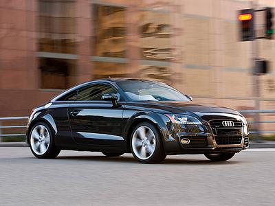 Audi TT текущего поколения