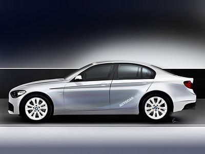 Предполагаемый облик седана BMW 1-Series