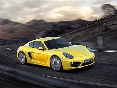 Обновленный Porsche Cayman