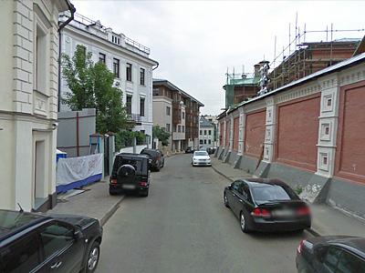 переулок в Москве