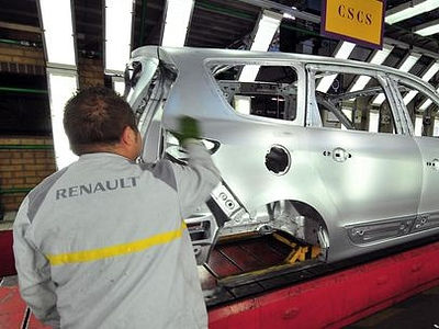 Завод Renault во Франции