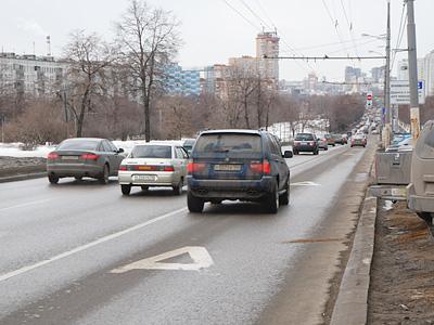 Выделенная полоса в Москве