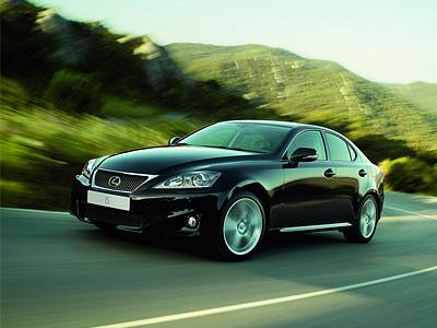Lexus IS текущего поколения