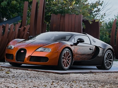 Bugatti Veyron Grand Sport, доработанный Бернаром Вене