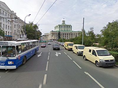 Самотечная улица в Москве