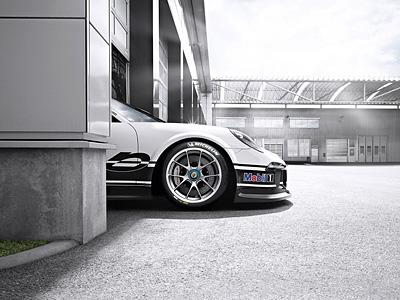 Тизер Porsche 911 GT3 Cup