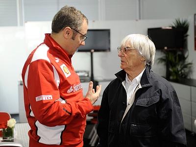 Руководитель Scuderia Ferrari и промоутер Формулы-1 Берни Экклстоун