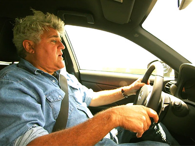Джей Лено за рулем нового Lexus IS