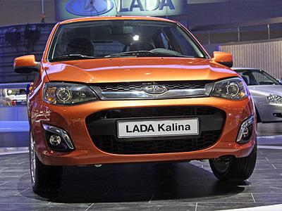 Рестайлинговая Lada Kalina