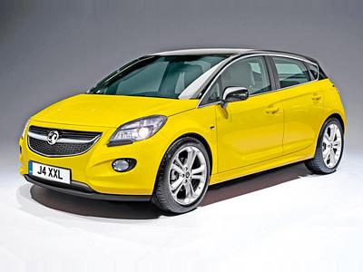 Предполагаемый облик новой Opel Corsa
