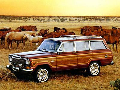 Jeep Grand Wagoneer 1984 года выпуска
