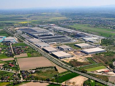 Производственная площадка Fiat в Польше