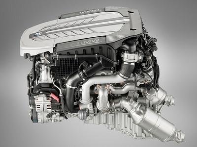 "12-цилиндровый двигатель BMW N74B60, устанавливаемый на ""семерку"""