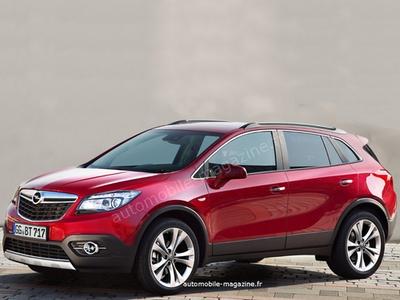 Opel Antara второго поколения