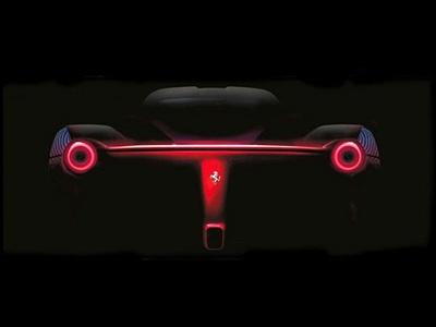 Тизеры новой Ferrari F70