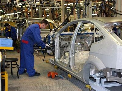 Производственный конвейер «Форда» в Санкт-Петербурге