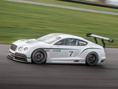 Прототип гоночного Bentley Continental GT3