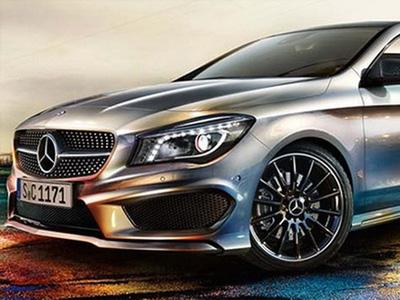 Предполагаемый облик Mercedes-Benz CLA-Class