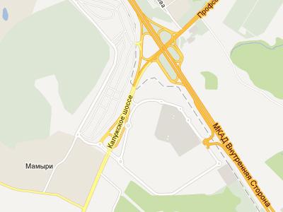 Калужское шоссе в «новой Москве»