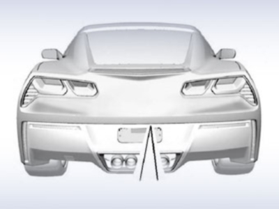Патентные изображения нового Chevrolet Corvette