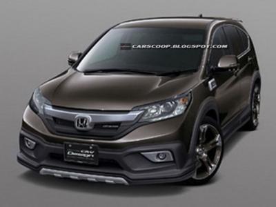 Новый Honda CR-V с тюнинг-пакетом Mugen
