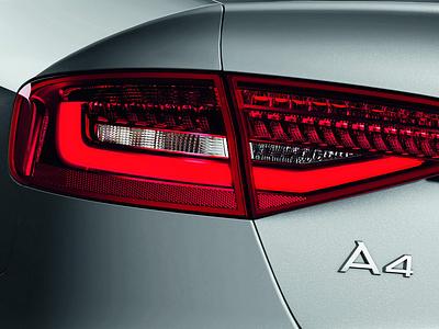 Фрагмент Audi A4 текущего поколения