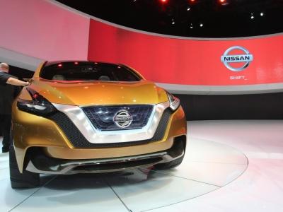 Концептуальный кроссовер Nissan Resonance
