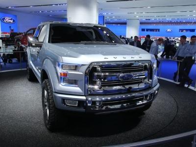 Концепуальный пикап Ford Atlas