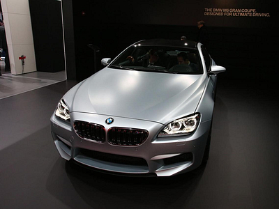 BMW M6 GranCoupe в Детройте