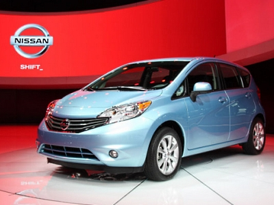 Nissan Versa Note 2014 модельного года