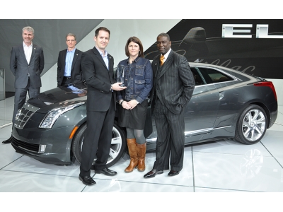 Победитель среди серийных автомобилей - Cadillac ELR