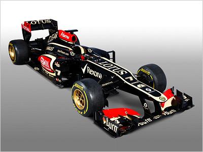 Новый болид Lotus E21