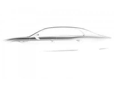 Тизер обновленного Bentley Continental Flying Spur